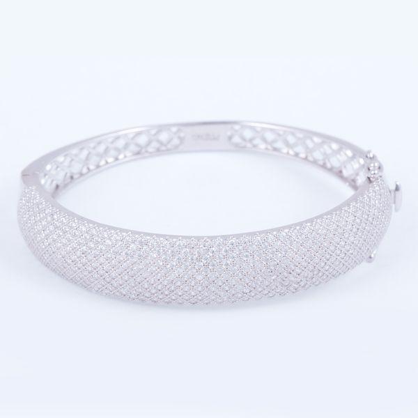 دستبند نقره زنانه مدل 3214