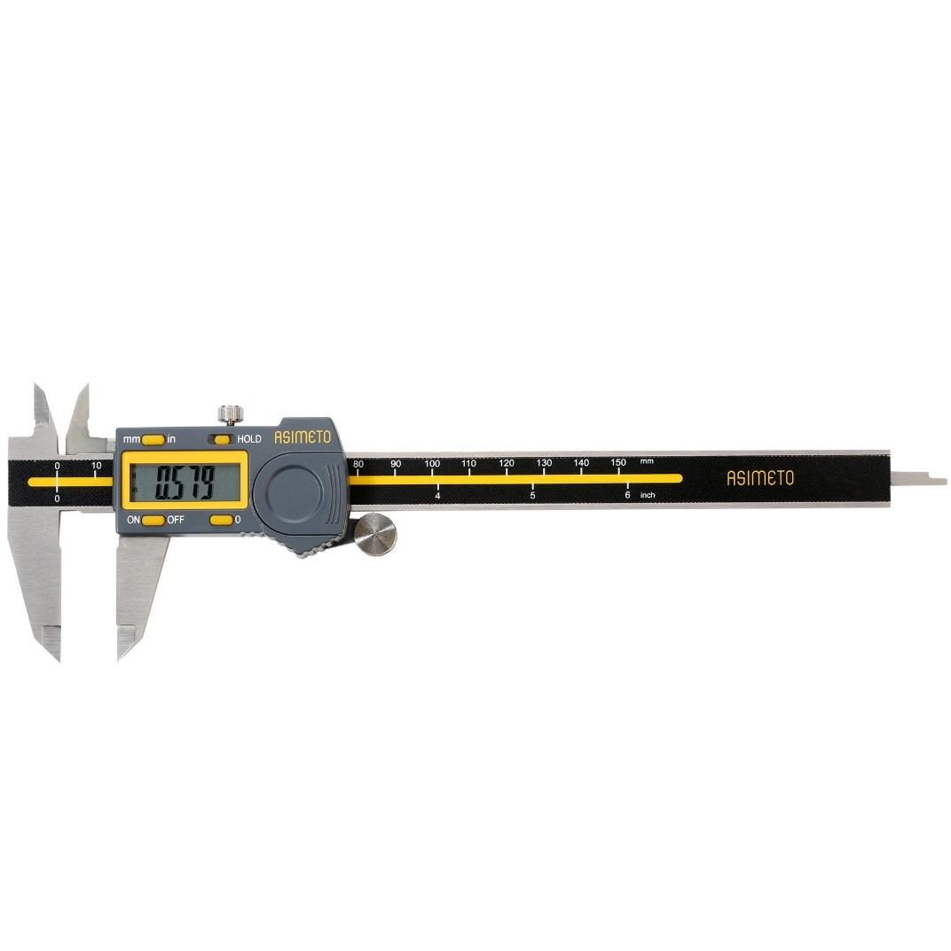 کولیس آسیمتو مدل 5-06-307 گستره 150-0 میلیمتری