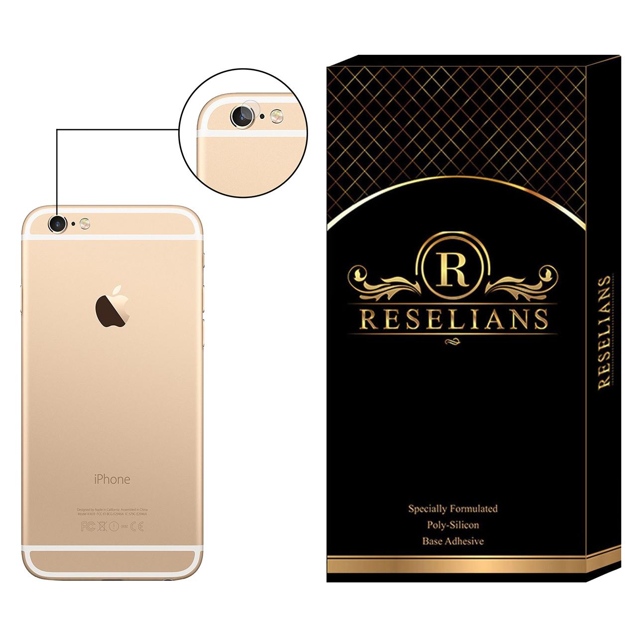 محافظ لنز دوربین رزلیانس مدل RLP مناسب برای گوشی موبایل اپل iPhone 6 Plus
