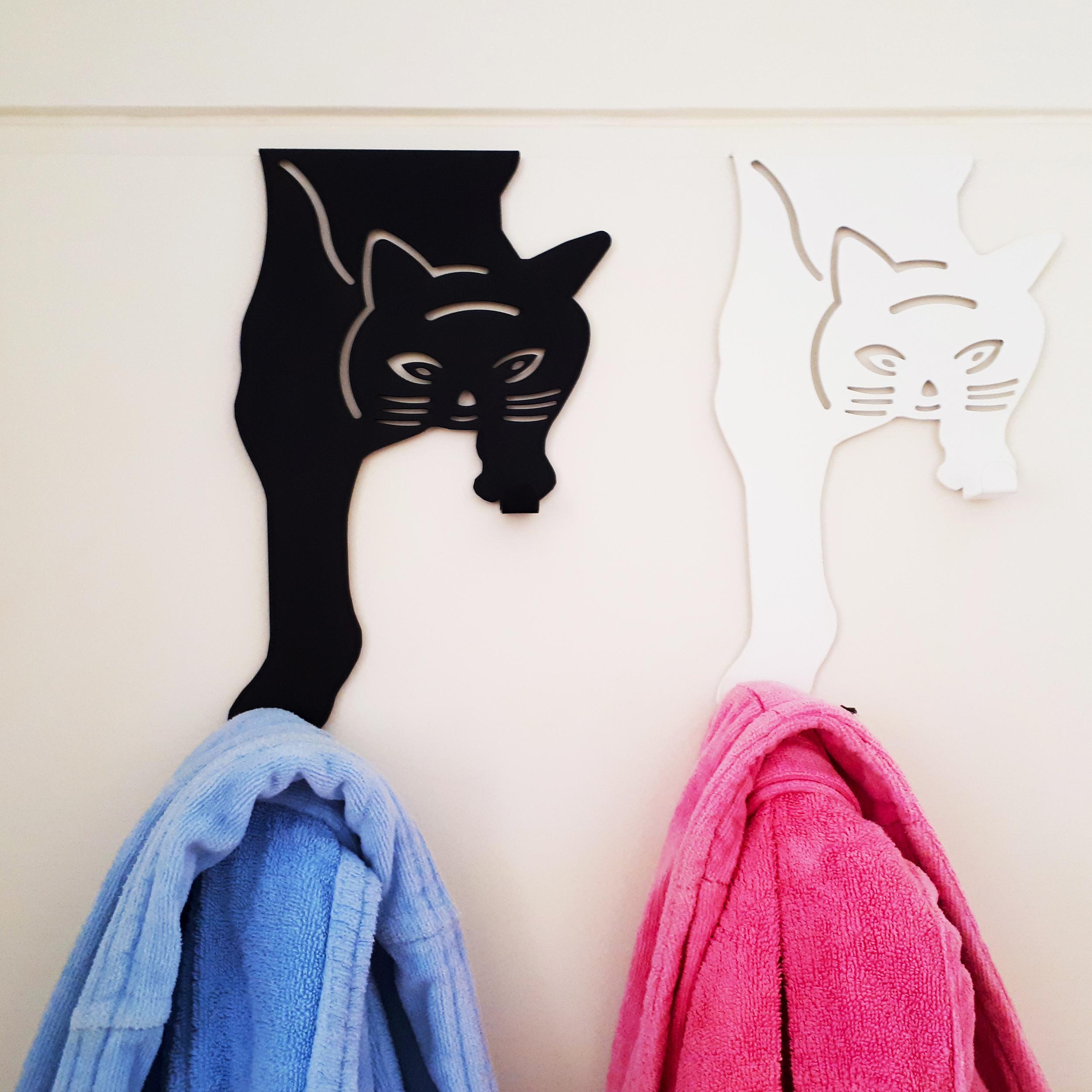 قیمت                      آویز لباس گرته مدل گربه