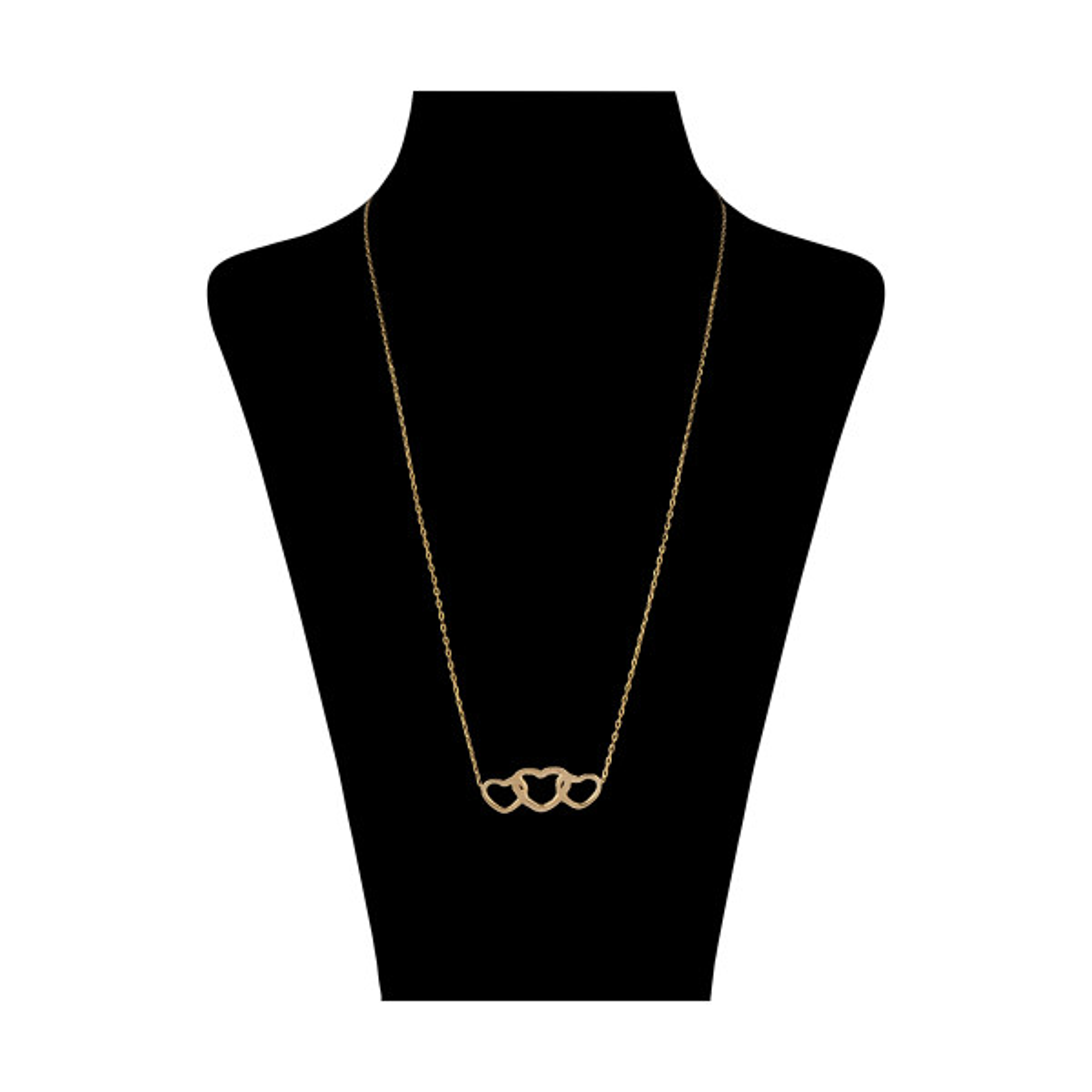 گردنبند طلا 24 عیار زنانه مدیسا مدل N2002