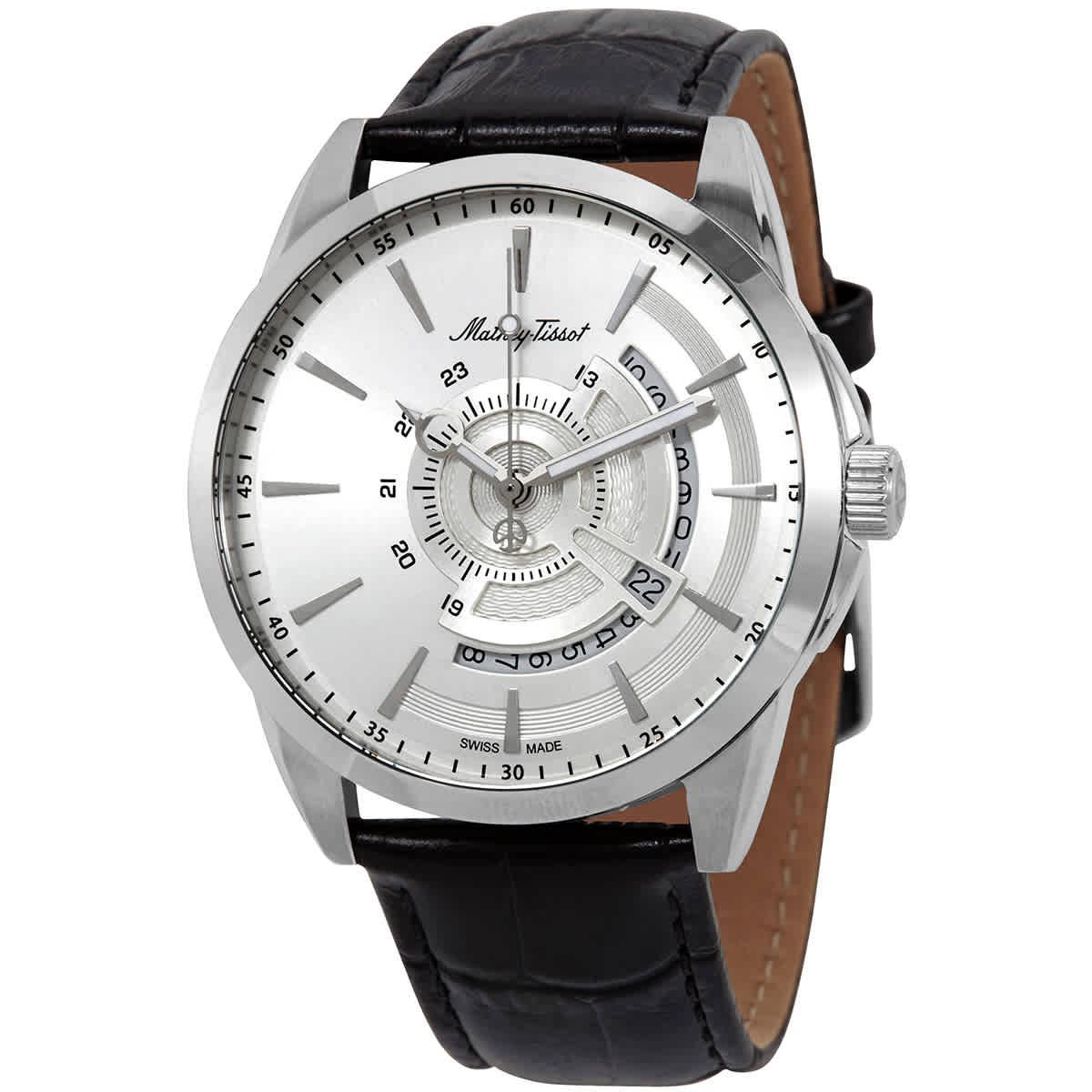 ساعت مچی عقربهای مردانه متی تیسوت مدل H711AS