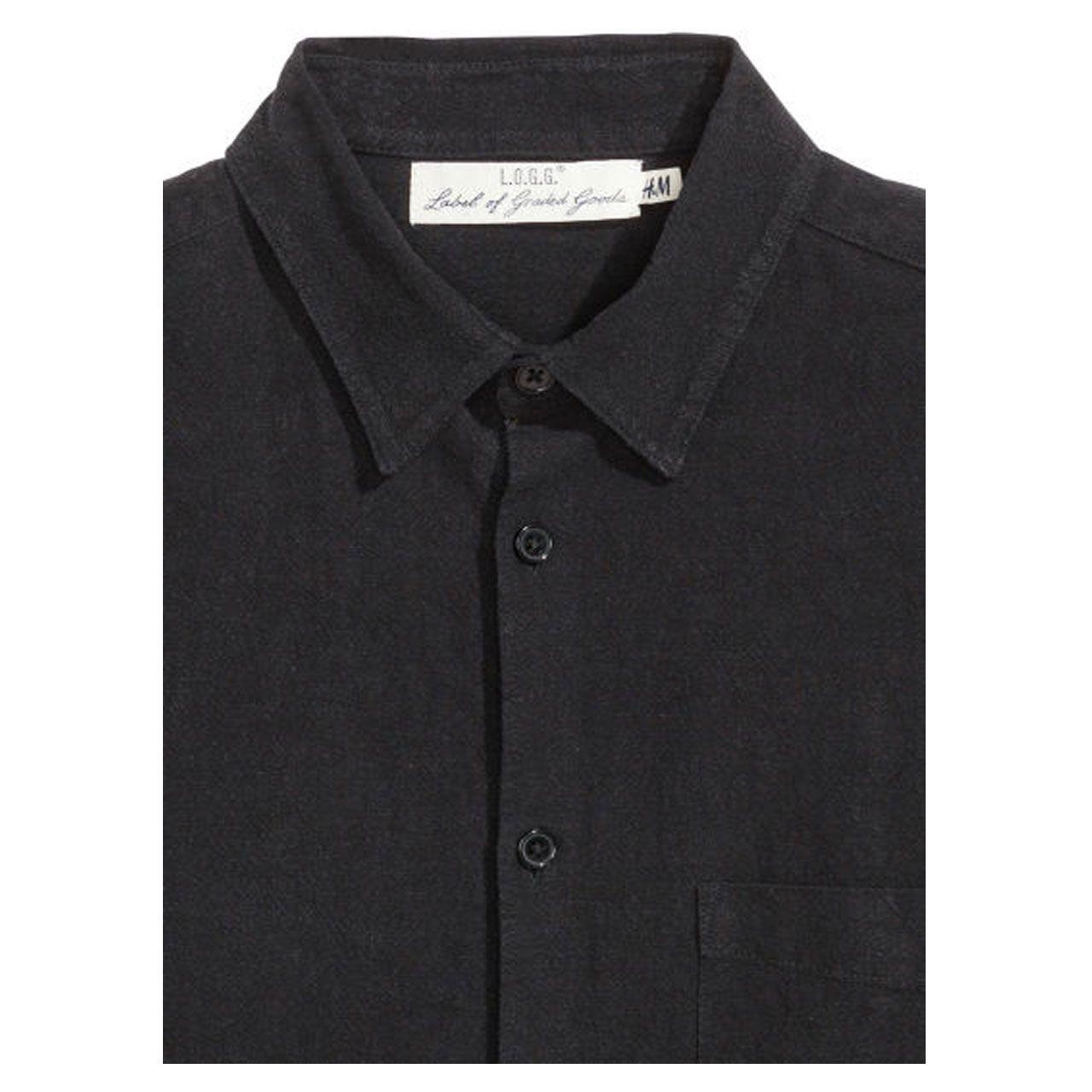پیراهن مردانه اچ اند ام کد 2211 -  - 3