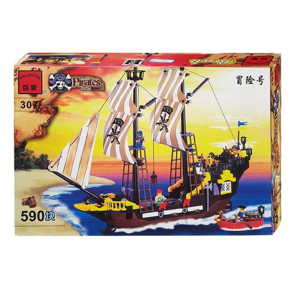ساختنی انلایتن مدل کشتی 307
