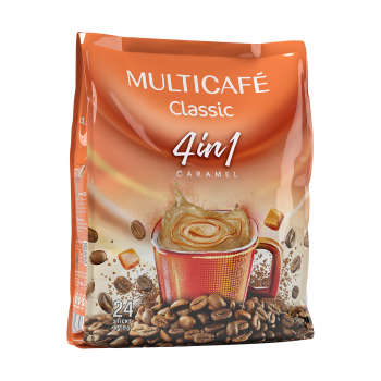 پودر قهوه فوری 1 × 4 کلاسیک مولتی کافه - 18 گرم بسته 24 عددی