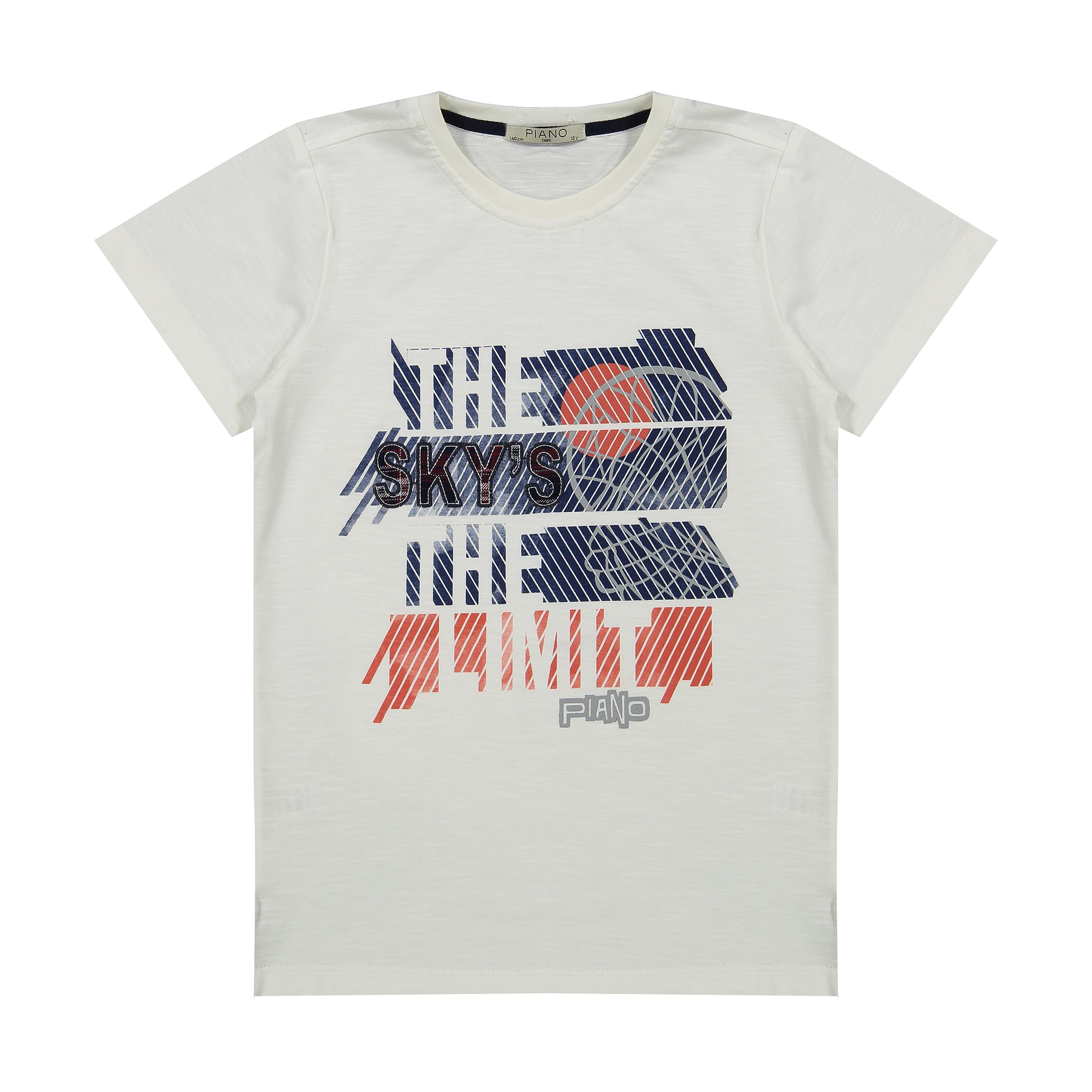 تی شرت پسرانه پیانو مدل 01534-1