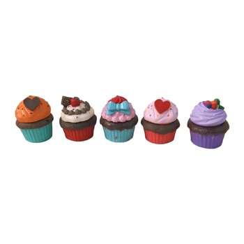 شکلات خوری کد420 طرح کاپ کیکمجموعه 5 عددی