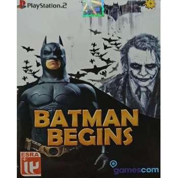 بازی BATMAN BEGINS مخصوص PS2