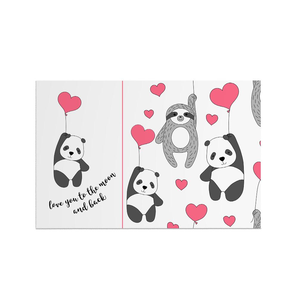 کارت پستال هورجین مدل عاشقانه ۱