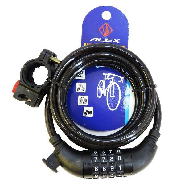 قفل دوچرخه الکس کد met-150