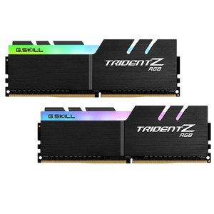 رم دسکتاپ DDR4 دو کاناله 4000 مگاهرتز CL19 جی اسکیل مدل TRIDENT Z RGB ظرفیت 32 گیگابایت بسته دو عددی