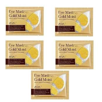 ماسک زیر چشم زوزو مدل طلا وزن 7.5 گرم مجموعه 5 عددی
