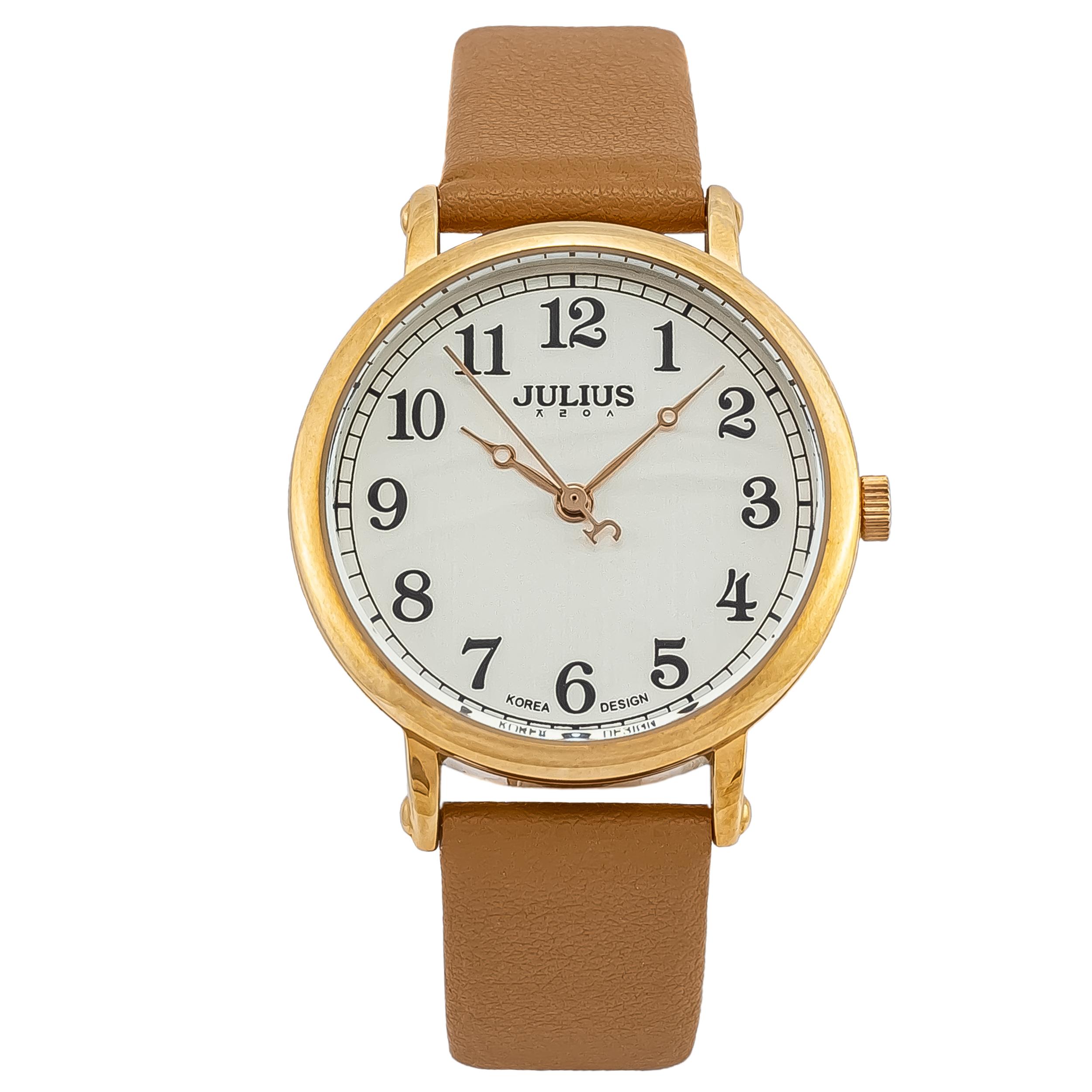 ساعت مچی عقربه ای زنانه جولیوس مدل JA949
