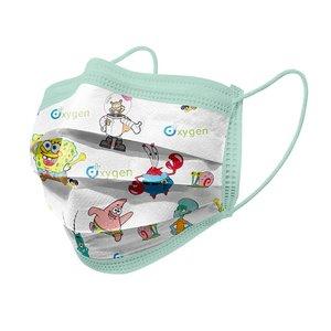 ماسک تنفسیکودک  اکسیژن پلاس مدل سه لایه بسته ۳۰ عددی