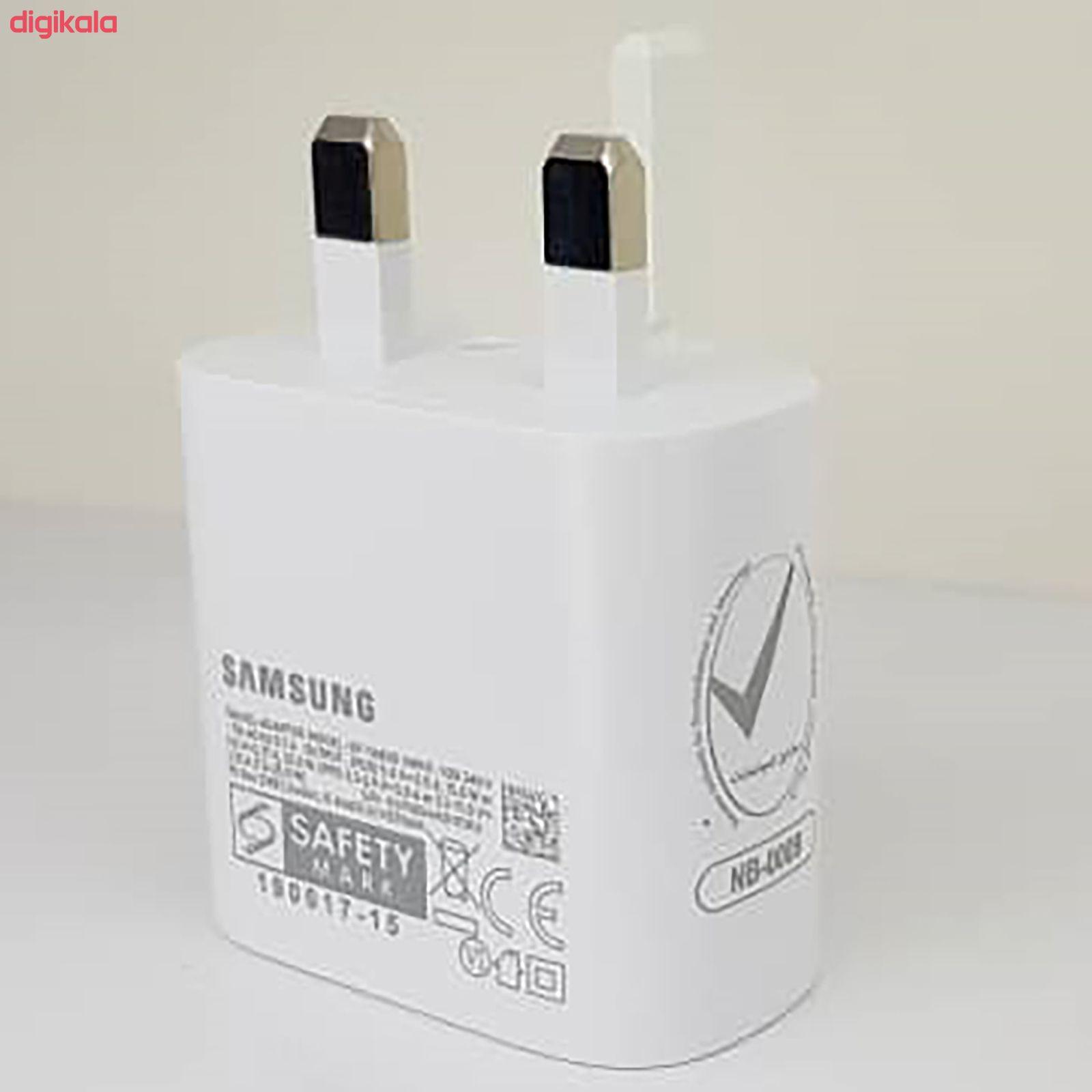 شارژر دیواری سامسونگ مدل EP-TA800 به همراه کابل تبدیل USB-C main 1 12