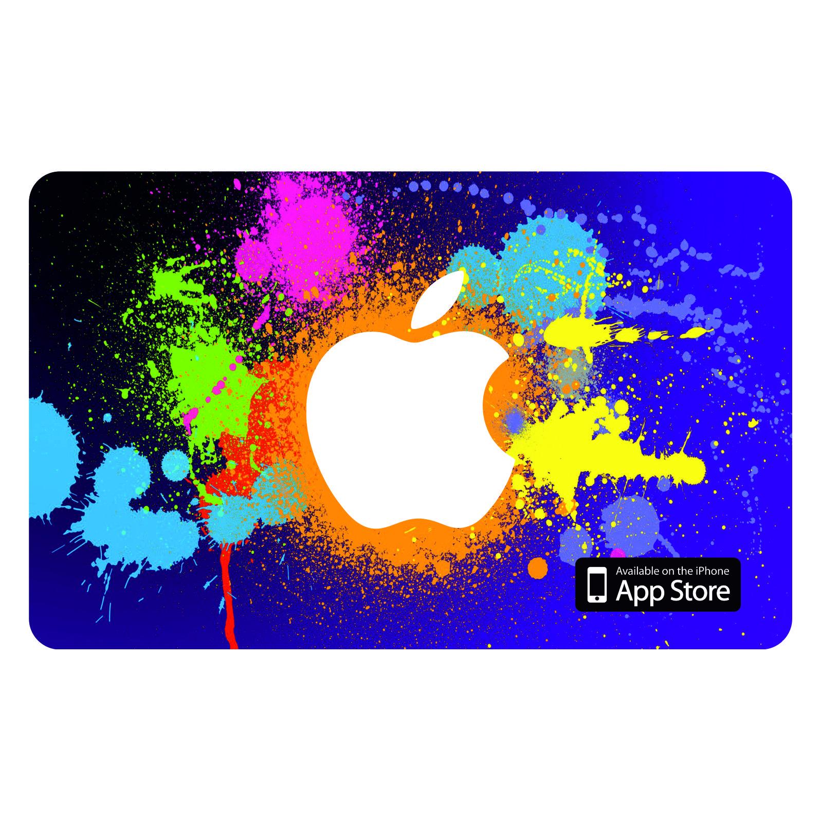 اپل آیدی بدون اعتبار اولیه مدل iCard بسته 50 عددی
