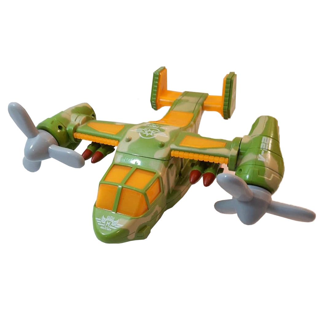 هواپیما بازی مدل ملخی کد 250
