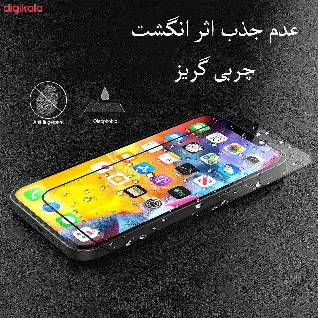 محافظ صفحه نمایش مدل FCG مناسب برای گوشی موبایل اپل iPhone 12 Pro بسته دو عددی main 1 17