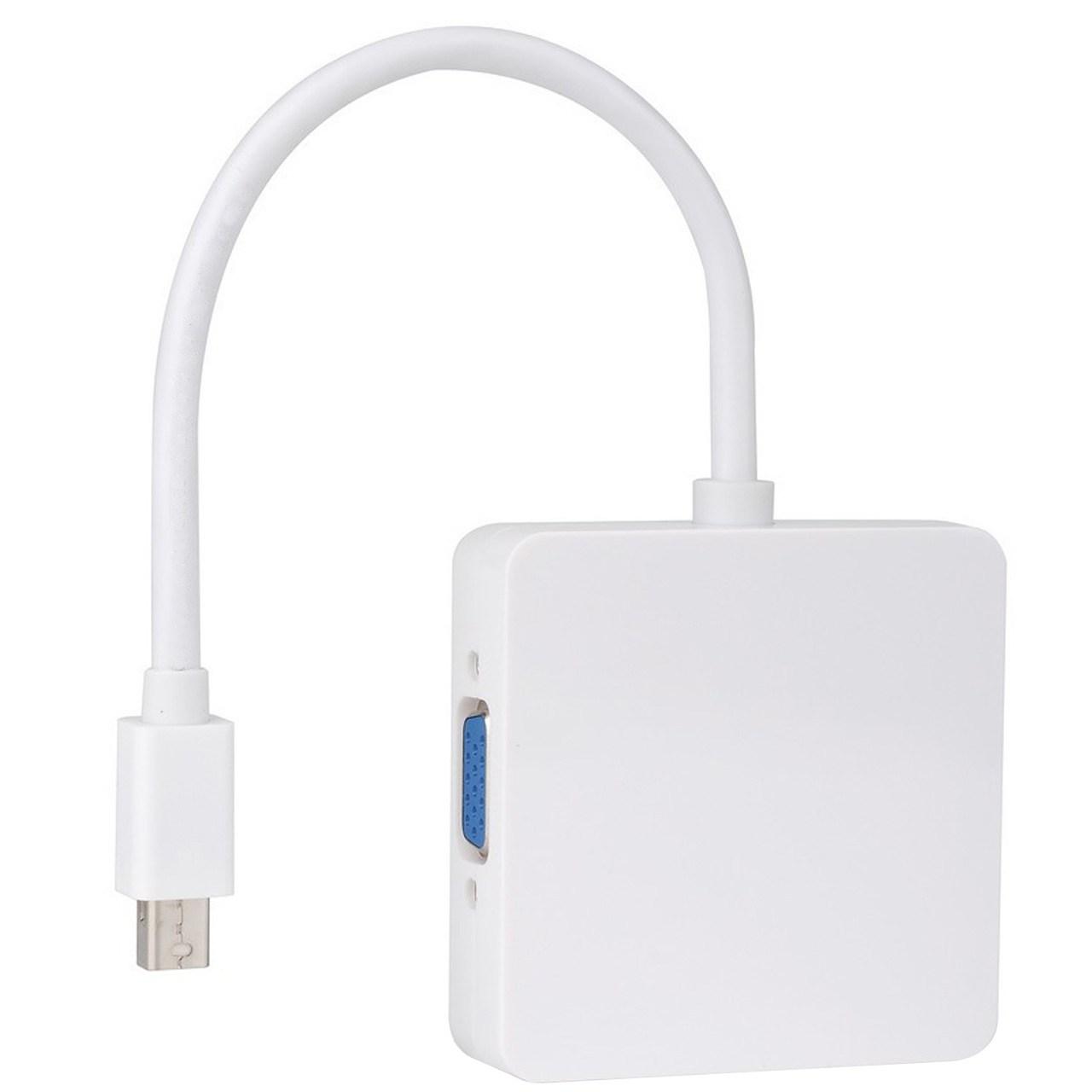 مبدل Mini Displayport به HDMI / VGA / DVI              ( قیمت و خرید)