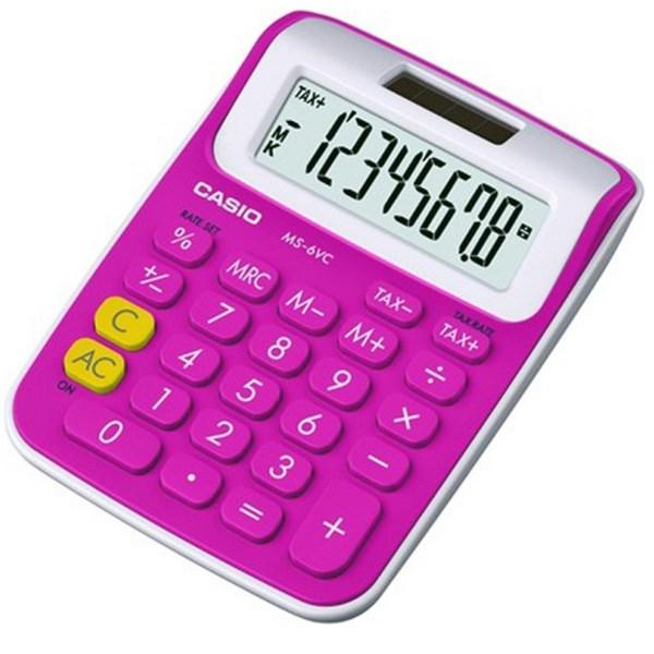 قیمت                      ماشین حساب کاسیو MS-6 VC