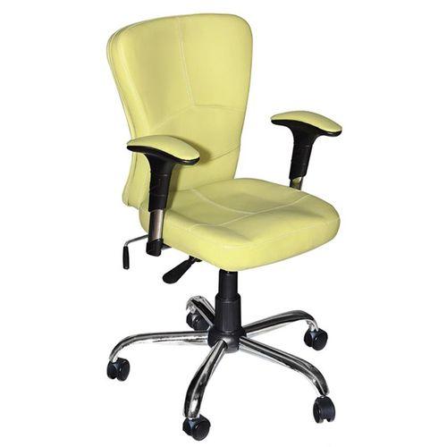 صندلی اداری نوین سیستم مدل 422T چرمی