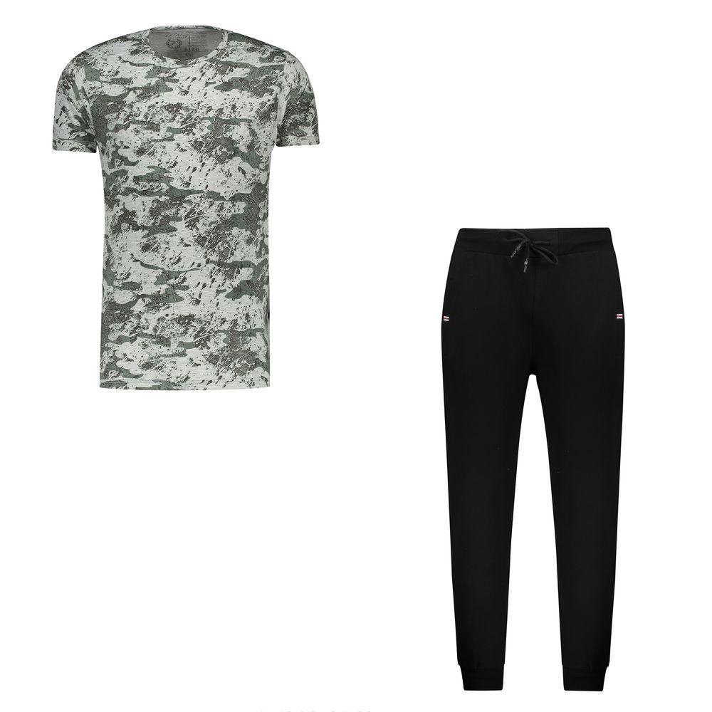 ست تی شرت و شلوار مردانه کد 111213-3