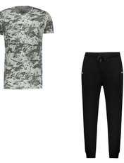 ست تی شرت و شلوار مردانه کد 111213-3 -  - 1