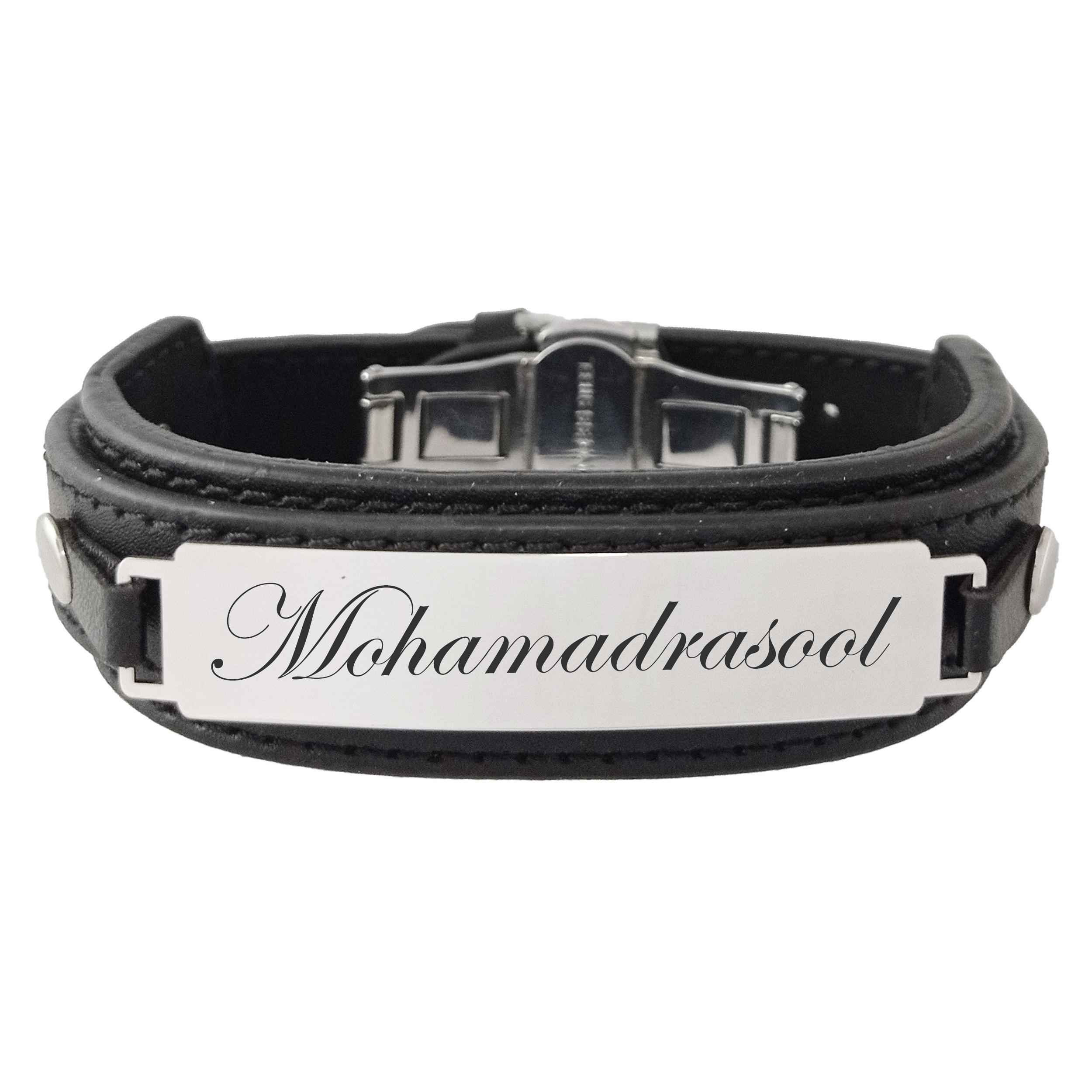 دستبند مردانه ترمه ۱ مدل محمدرسول کد Sam 965