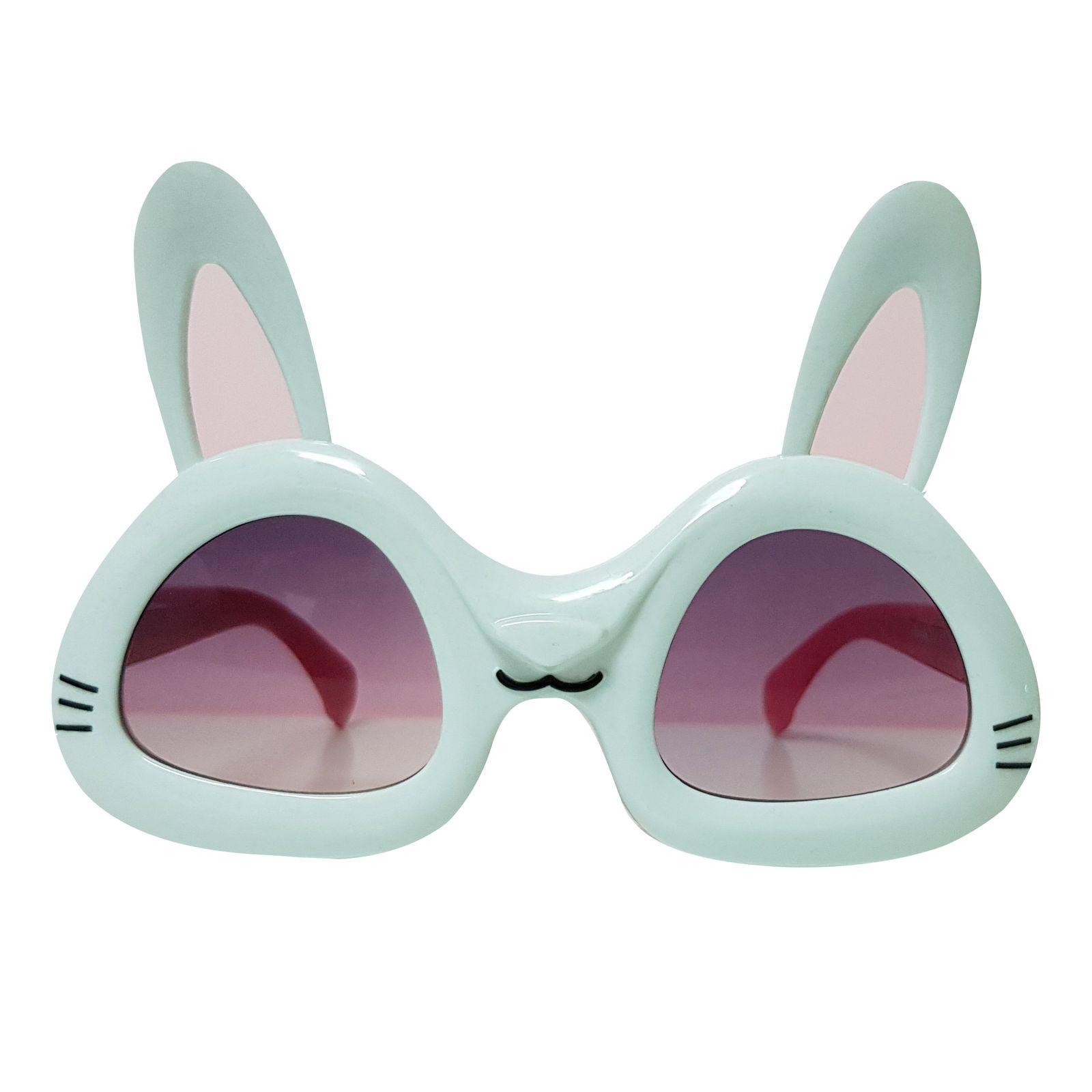 عینک آفتابی بچگانه طرح خرگوش کد KD61004 -  - 2