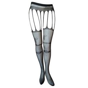 جوراب شلواری زنانه مدل نگین دار بدون فاق کد J6