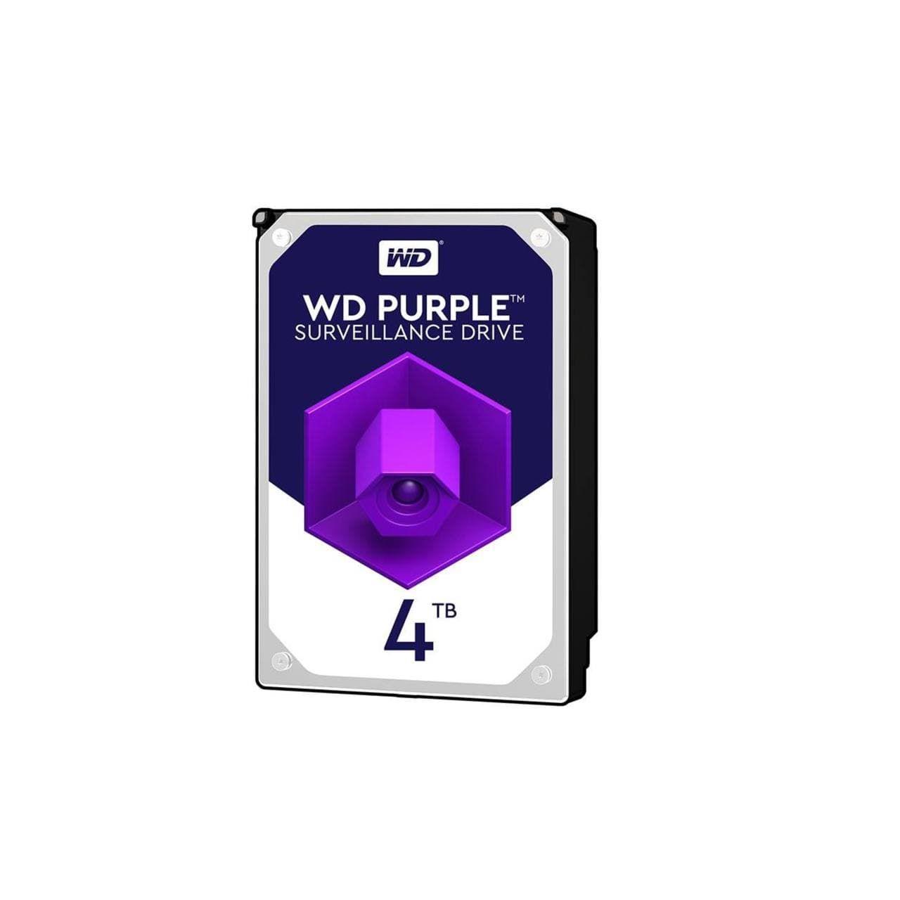 هارددیسک اینترنال وسترن مدل Purple WD4BGA ظرفیت 4 ترابایت