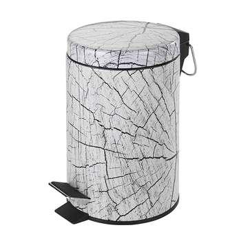 سطل زباله پدالی ونکو مدل Wood گنجایش 3 لیتر