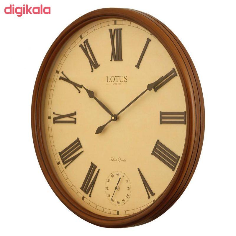 ساعت دیواری لوتوس کد BEVERLYHILLS-152-WAL main 1 2