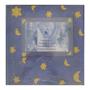 آلبوم عکس کودک طرح ماه و ستاره