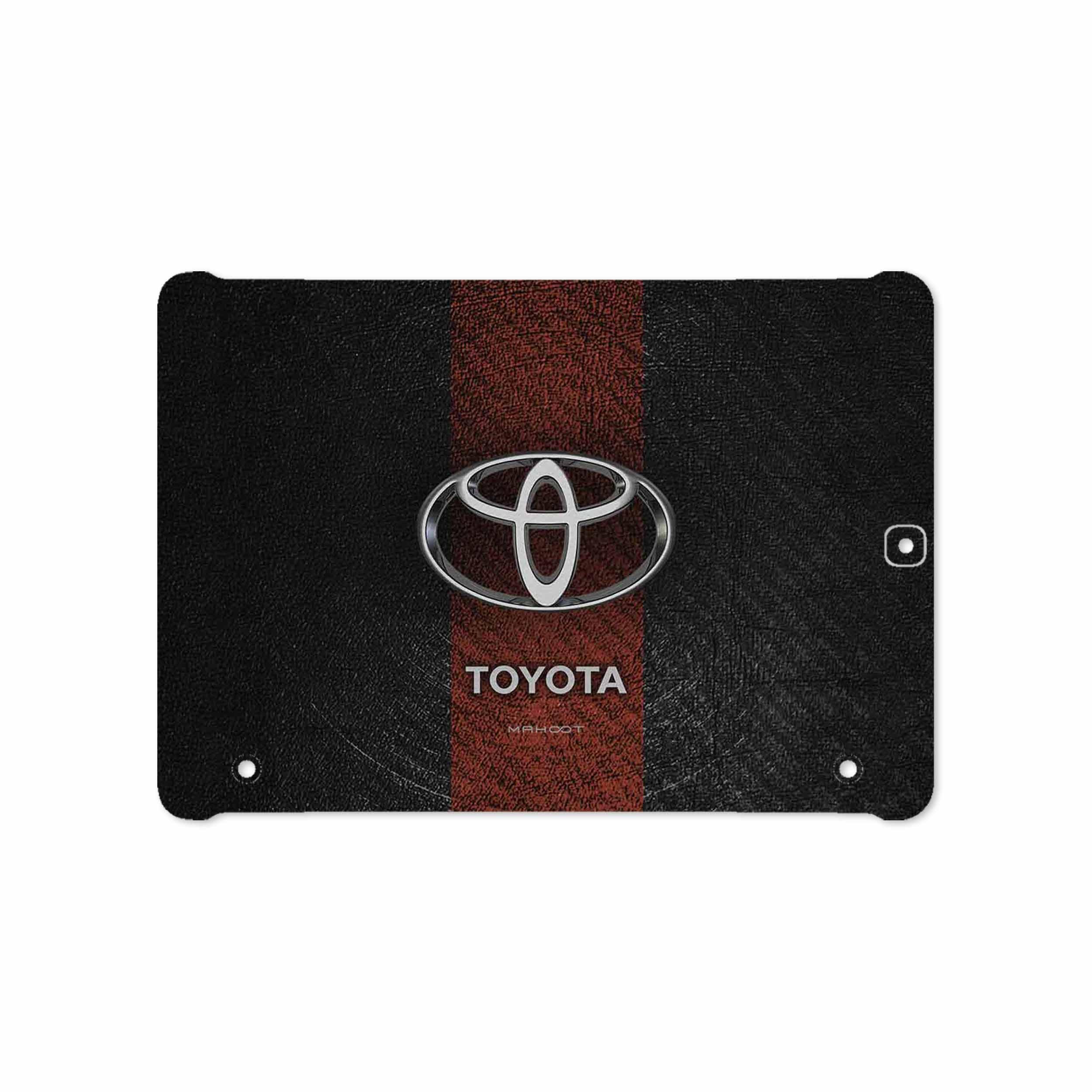 بررسی و خرید [با تخفیف]                                     برچسب پوششی ماهوت مدل TOYOTA-Logo مناسب برای تبلت سامسونگ Galaxy Tab S2 9.7 2015 T815                             اورجینال