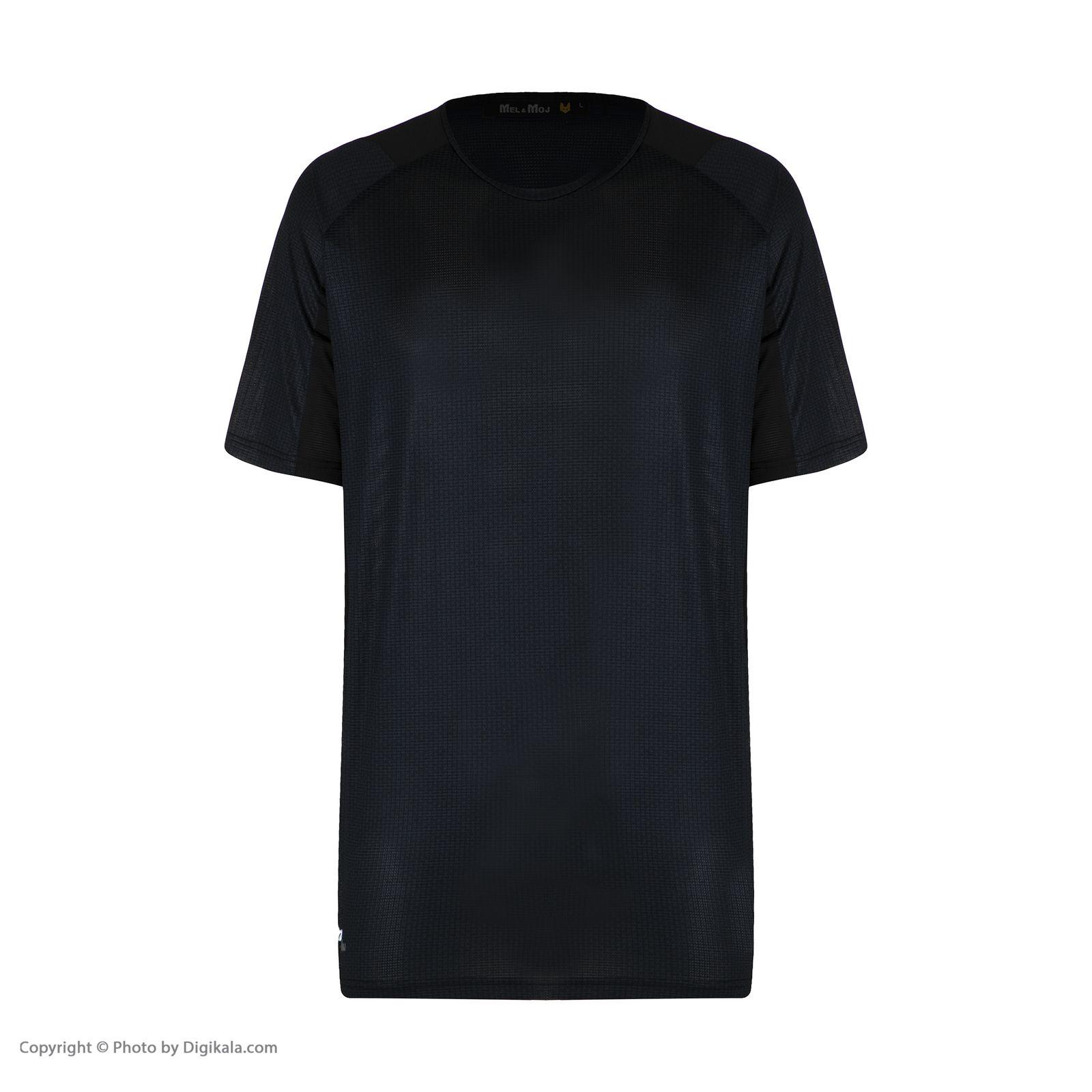تیشرت آستین کوتاه مردانه مل اند موژ مدل KT0015-001 -  - 3