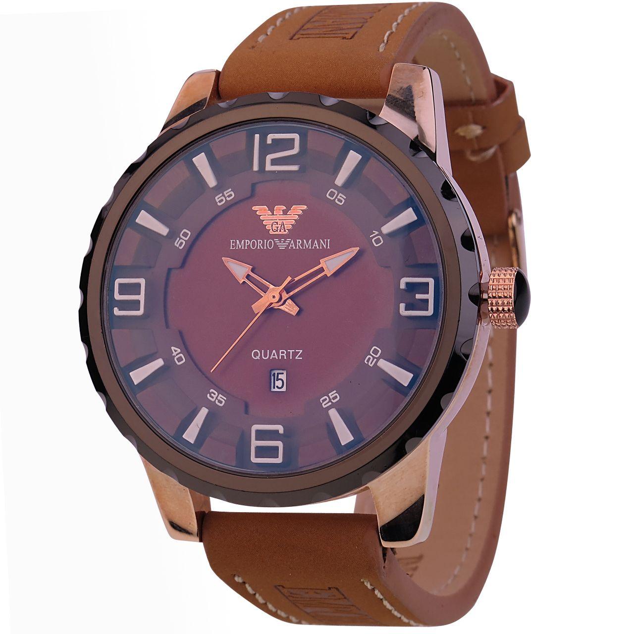 ساعت مچی عقربه ای مردانه مدل Q.R.Z-325              خرید (⭐️⭐️⭐️)