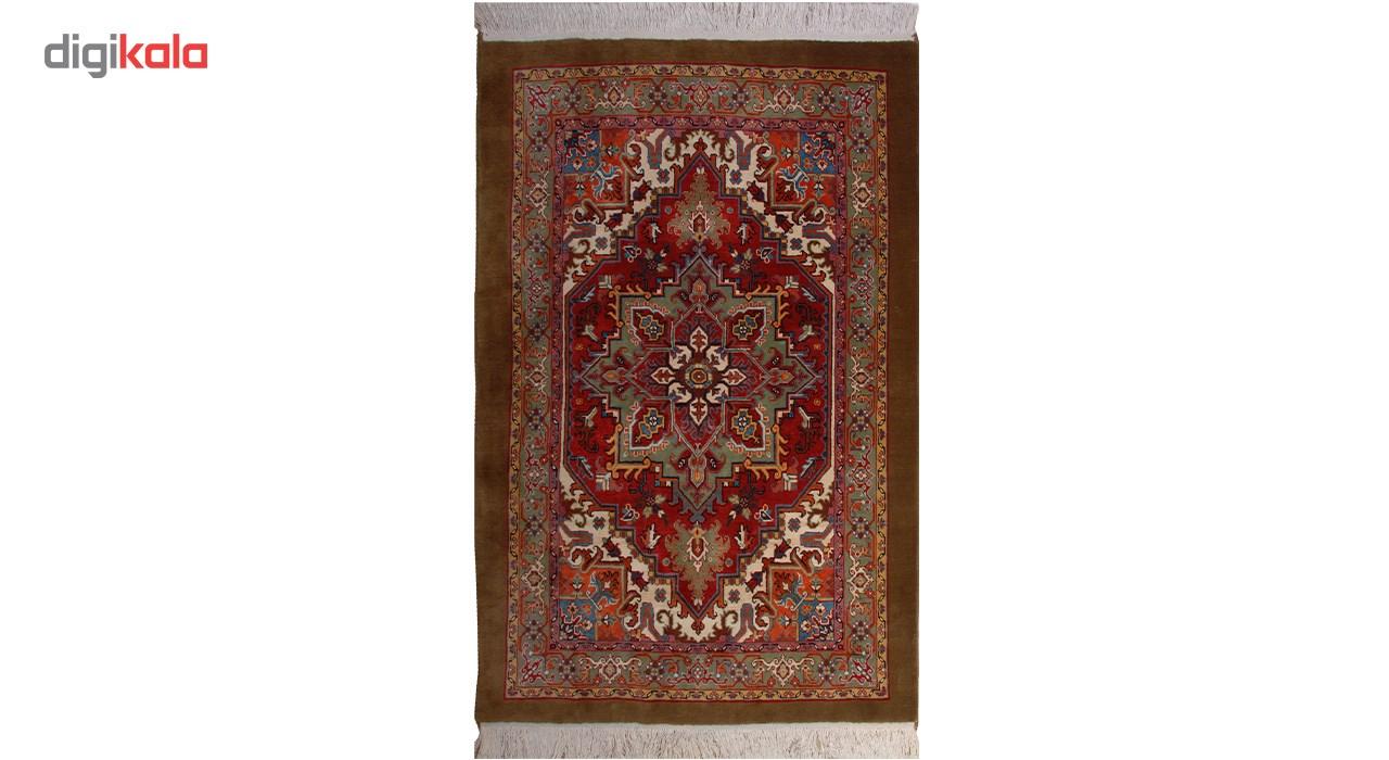 فرش دستبافت سه و نیم متری هریس کد 100308