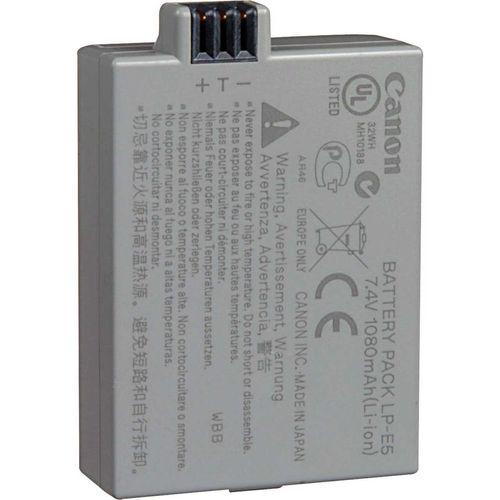 باتری دوربین لیتیوم یون کانن مدل LP-E5