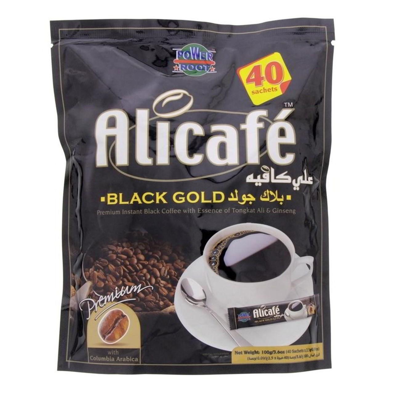 قهوه علی کافه مدل Black Gold