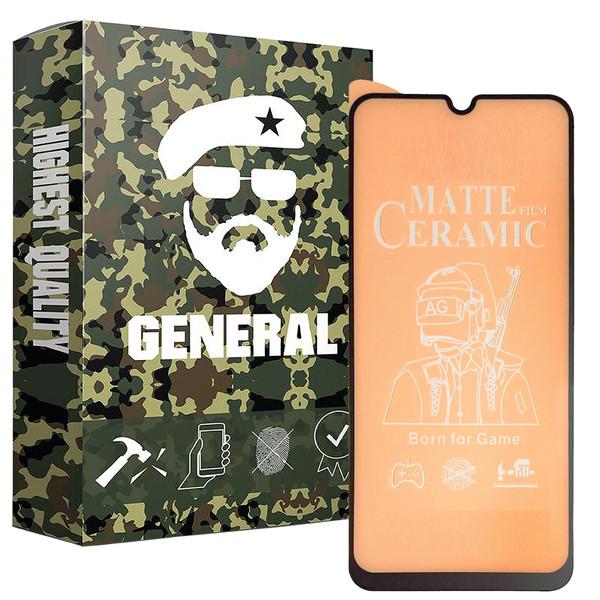 محافظ صفحه نمایش مات ژنرال مدل LKFCM مناسب برای گوشی موبایل سامسونگ Galaxy A01