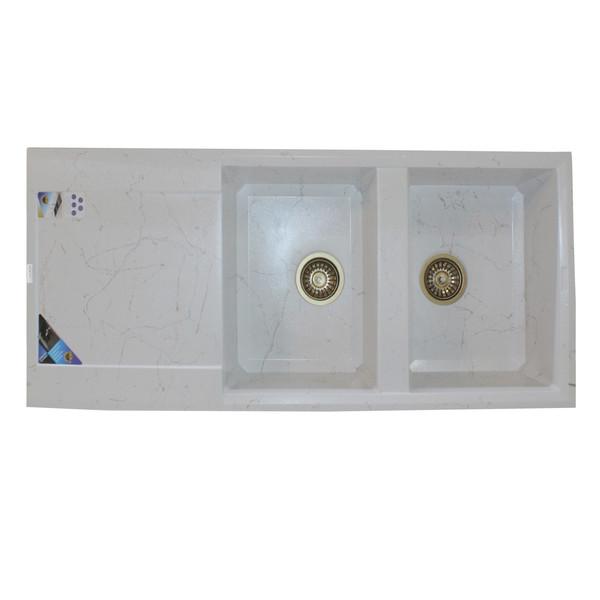 سینک ظرفشویی پارادایز مدل TURKEY208WGS توکار