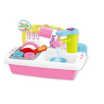 ست اسباب بازی آشپزخانه مدل سینک ظرفشویی کد 3453