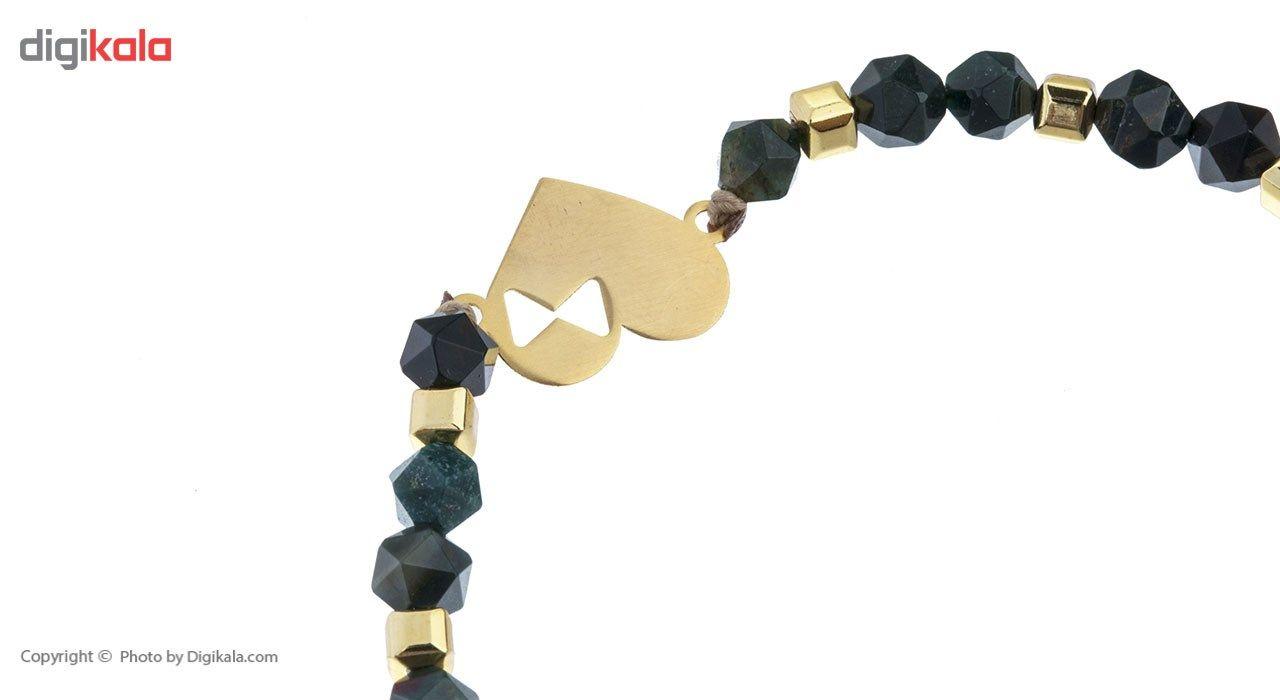 دستبند طلا 18 عیار ماهک مدل MB0377 - مایا ماهک -  - 3