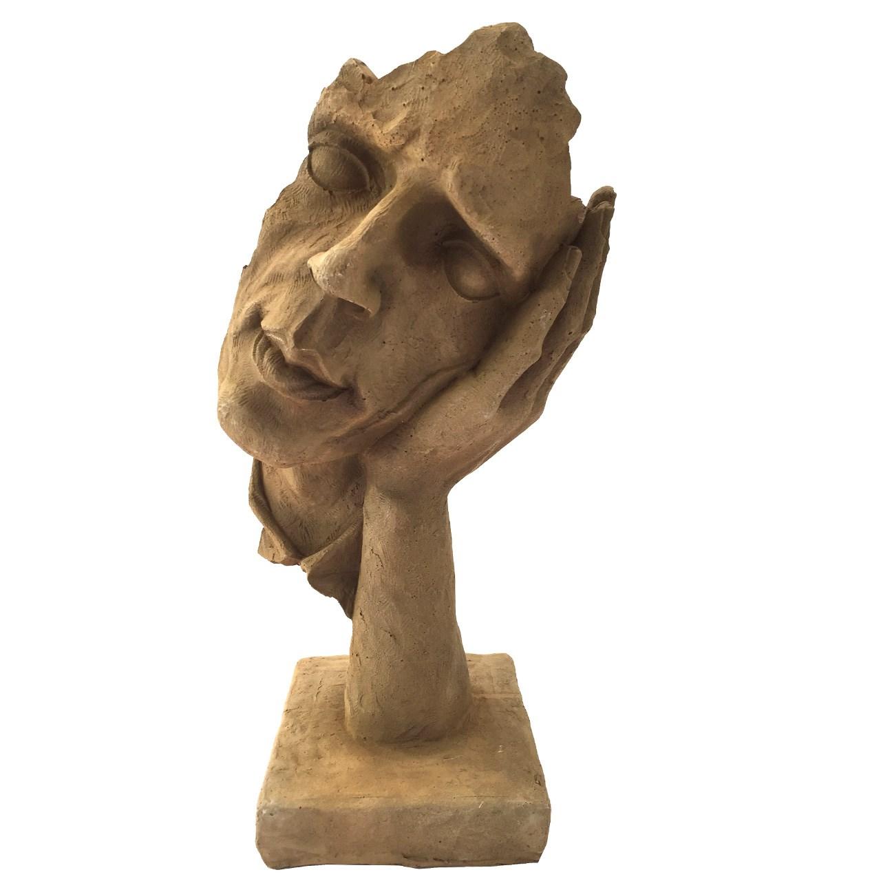 مجسمه طرح خاکی مدل Thinking 02