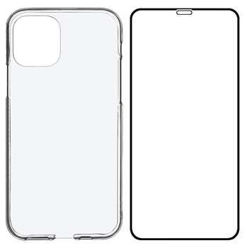 کاور مدل BLKN مناسب برای گوشی موبایل اپل iPhone 12 mini به همراه محافظ صفحه نمایش