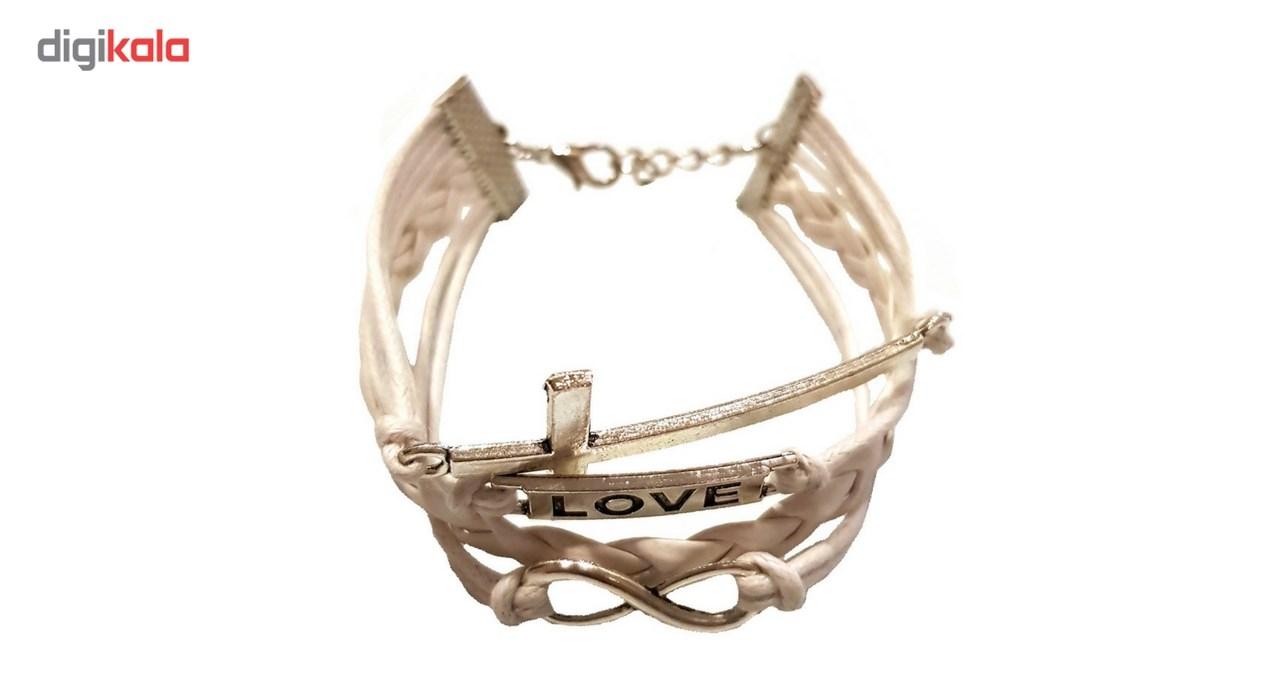 دستبند چرمی الفین مدل el02021
