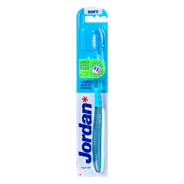 مسواک جردن محافظ لثه مدل Target Teeth And Gums با برس نرم