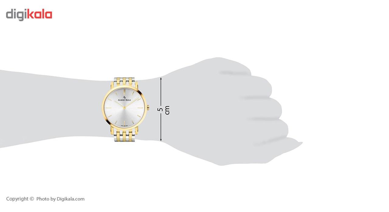 ساعت مچی عقربه ای آلبرت ریله مدل 018UQ19-SY33I-SM
