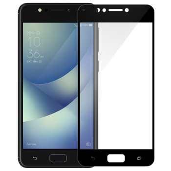 محافظ صفحه نمایش شیشه ای تمپرد مدل Full Cover مناسب برای گوشی موبایل ایسوس Zenfone 4 Max ZC520KL